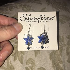 Gorgeous earrings, Silverforest handcrafted in USA